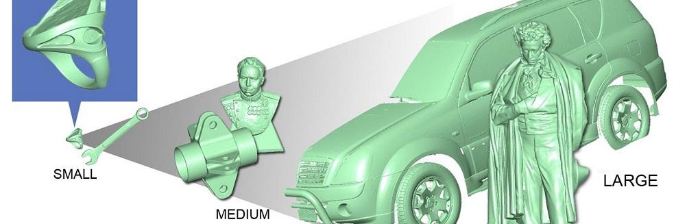 Услуги по 3D-сканированию и реинжинирингу
